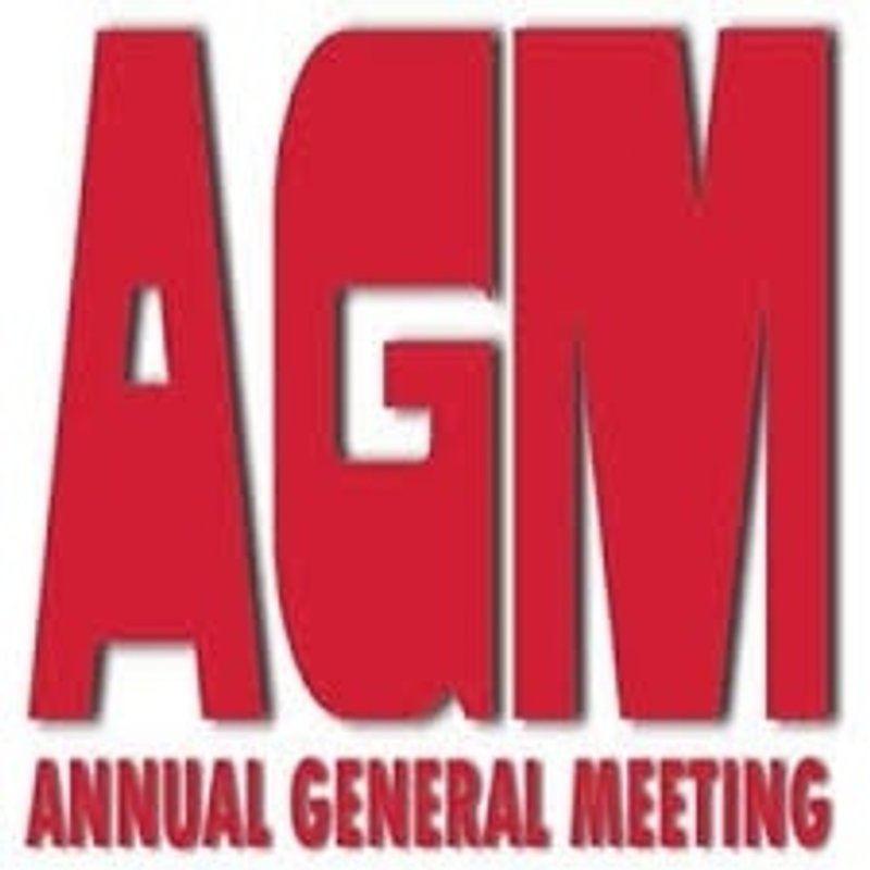 Annual General Meeting - Weds 26th April 2017
