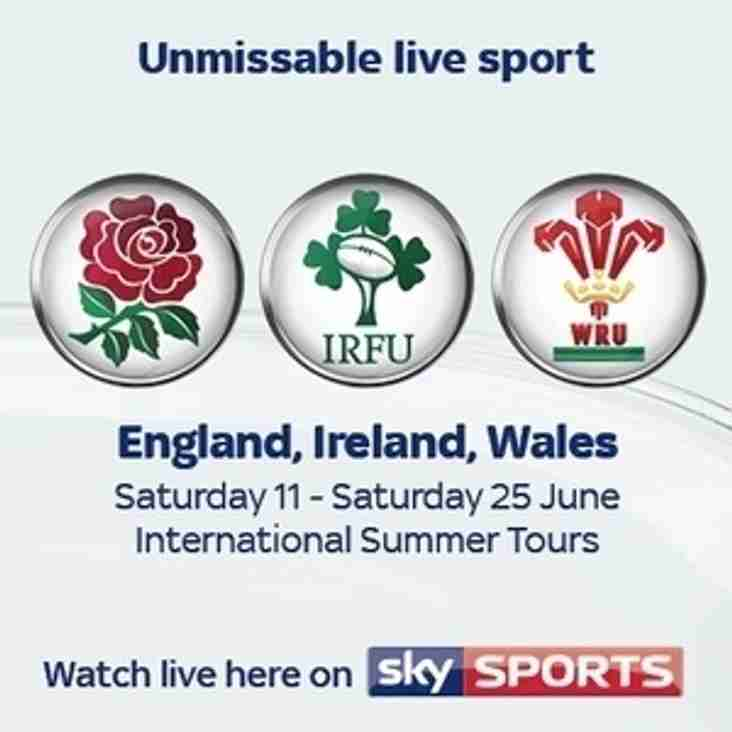Summer Internationals 'Live' (now with added breakfast!)
