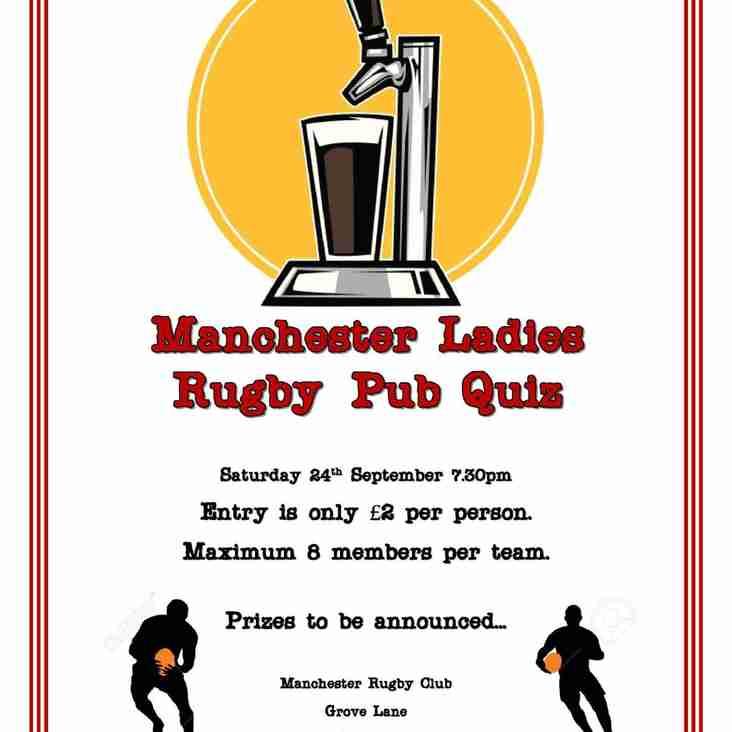 Pub Quiz - Saturday September 24th