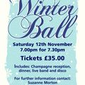 Annual Rugby Ball - Saturday 12th November