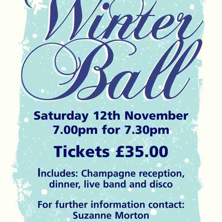 Annual Rugby Ball - Saturday 12th November