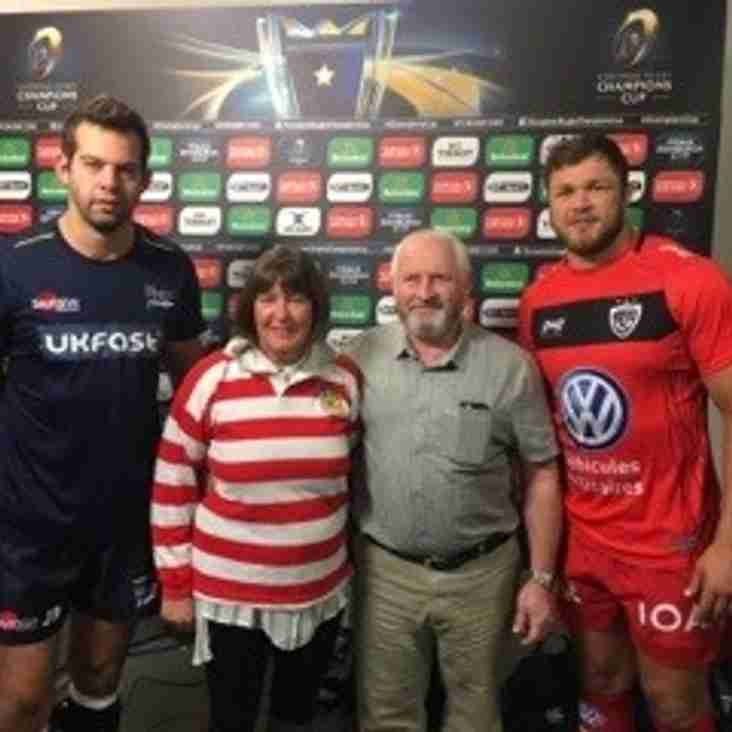 Champions Cup Support for Sale Sharks