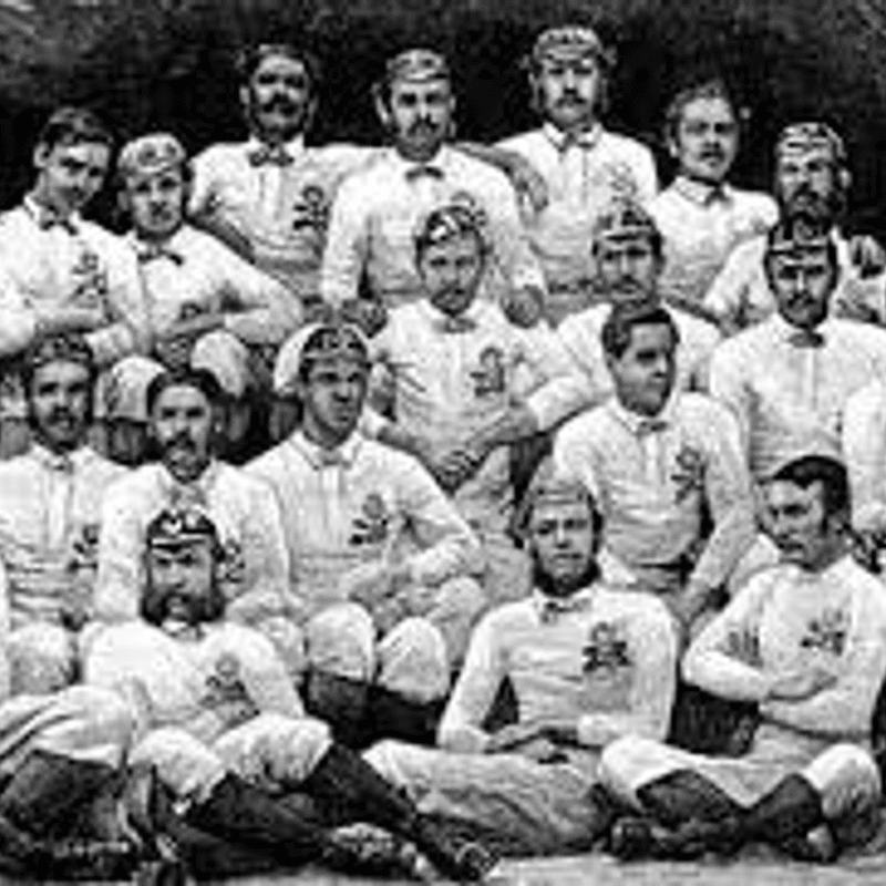 First Rugby International - 27th March 1871