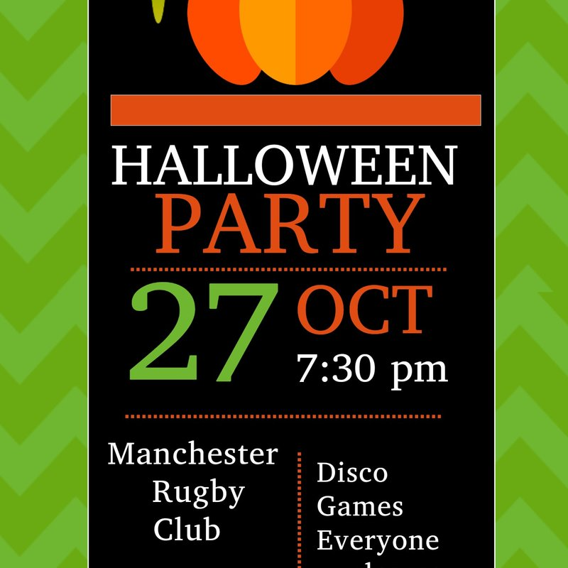 Halloween Party - Friday 27th October