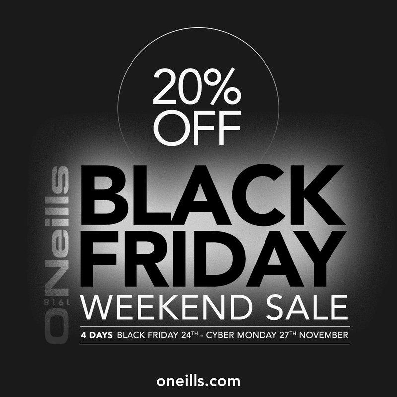 O'Neills 'Black Friday' Weekend Sale