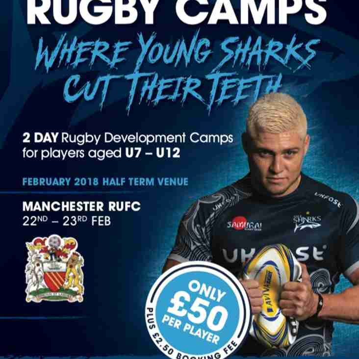 Sale Sharks Rugby Camp *HALF TERM*