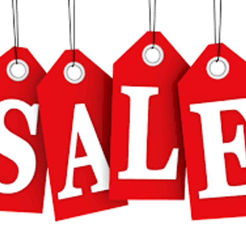 End of Season Sale - Sunday 22nd April!