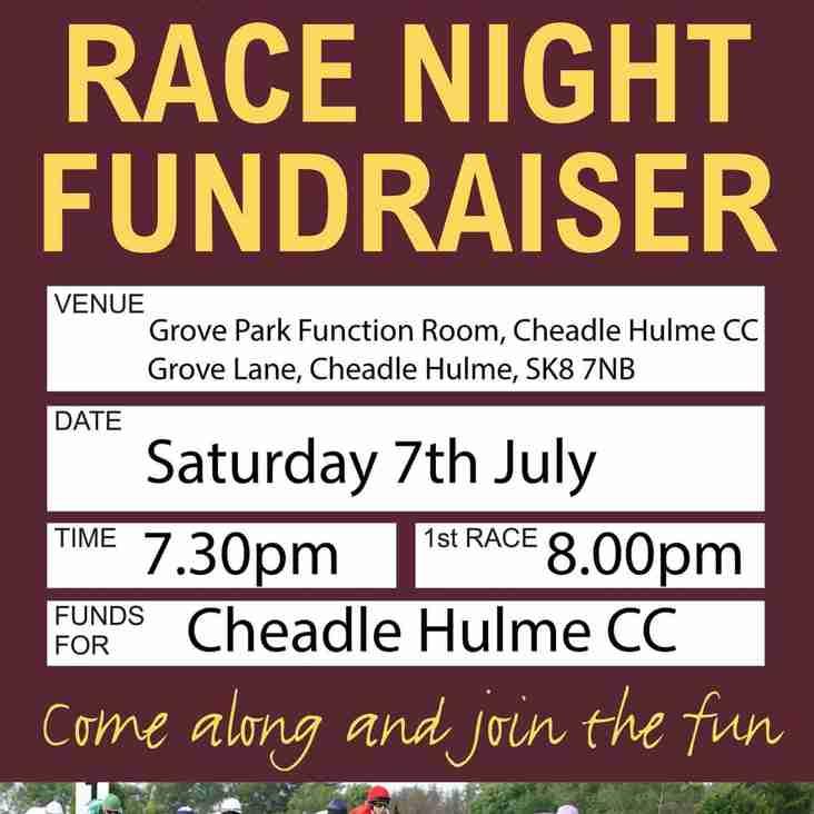 CHCC Race Night - Saturday 7th July 2018