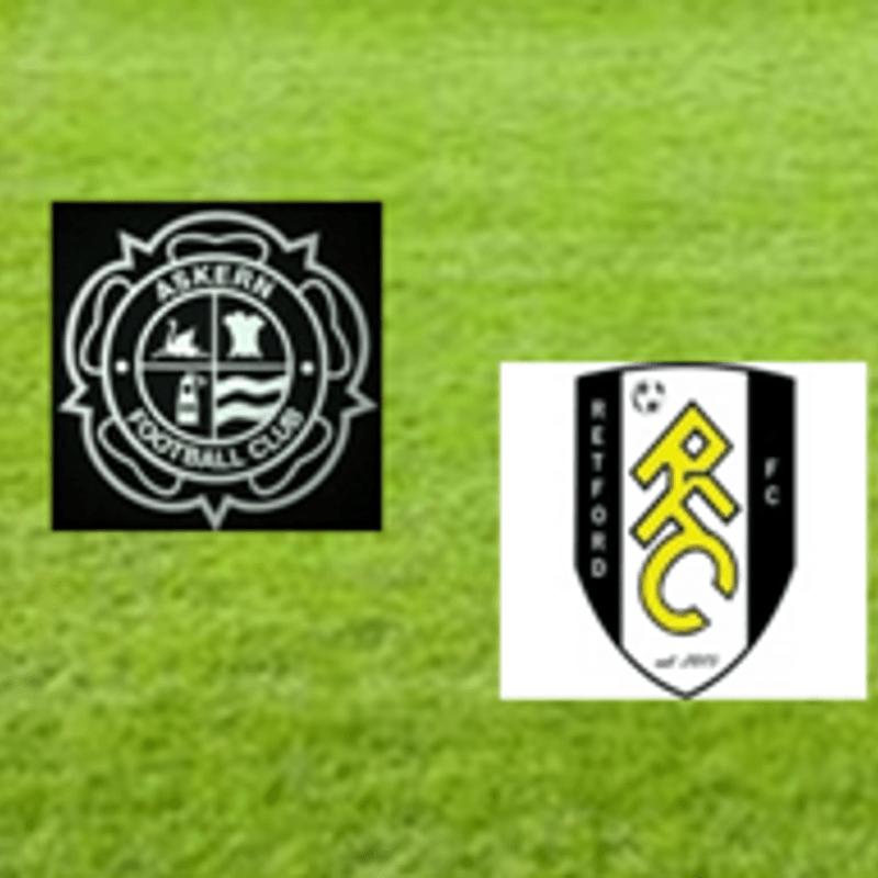 Askern FC  v  Retford FC