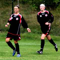 Doubles for Hawcroft and Morgan as ladies march on