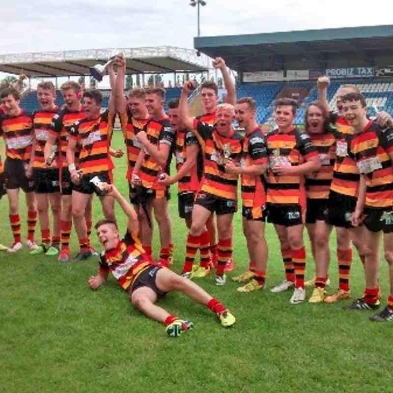 U16`s Continuation Cup Final Winners 2014.  Shaw Cross 30 - Siddal 24.
