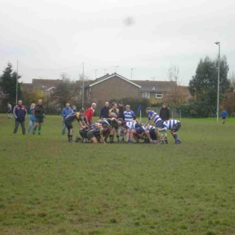 Whitstable 1sts v's Sittingbourne - Saturday 17 November2012