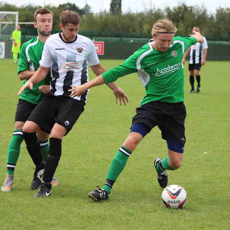 Second Team v Patchway Town - 15th August 2015