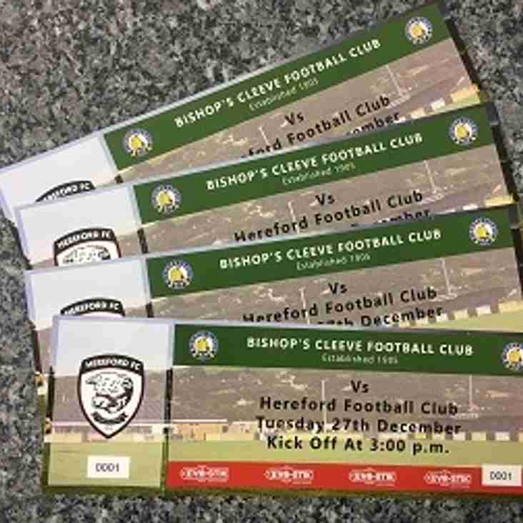 Bishops Cleeve v Hereford Tickets