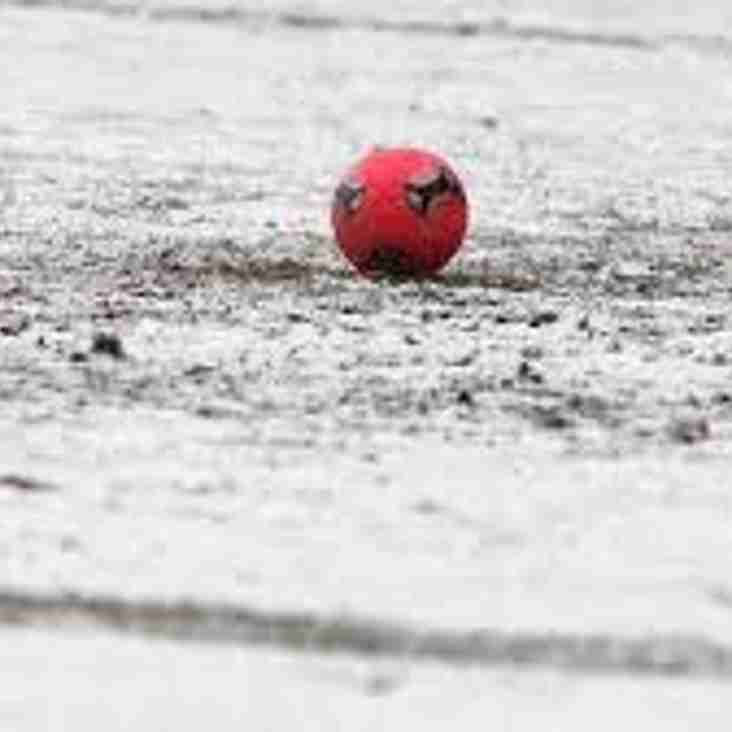 2nd Team County Match at home Today is OFF