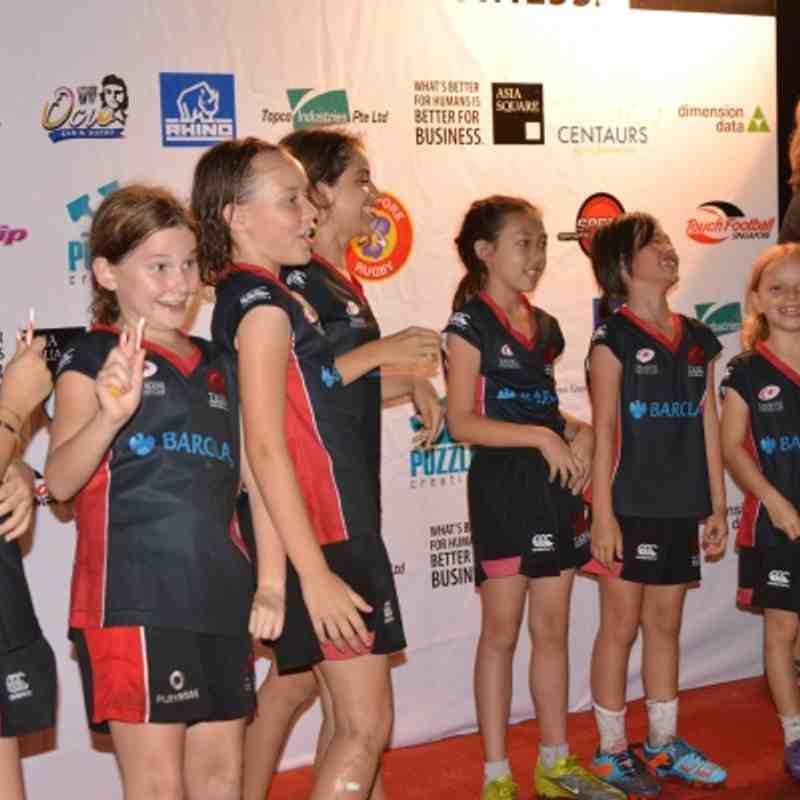 Under 10's Girls Touch - Centaurs Tournament 2012