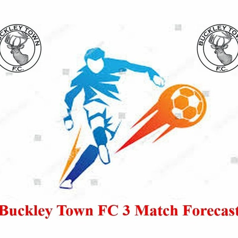 Buckley Town FC 3 match forecast for weekend 10th March