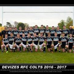 Devizes RFC Colts Team Photo 2016-17