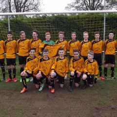 U15s Win Local Derby but Just