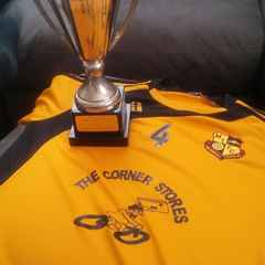 MTFC U15s Receive League Champs Trophy