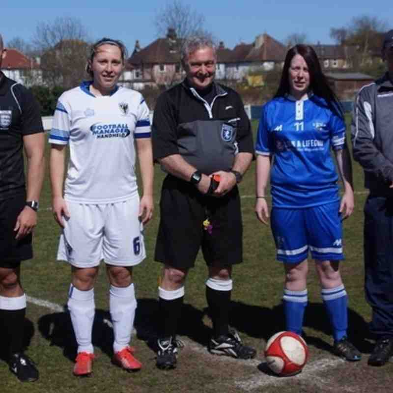 Ladies v AFC Wimbledon 17/4/16
