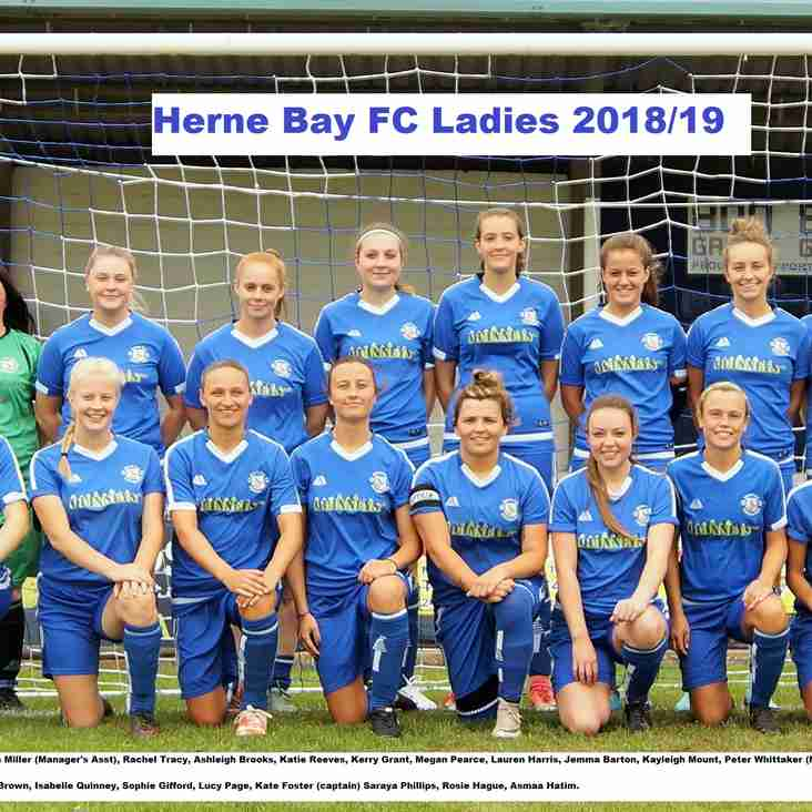Sponsor a Herne Bay FC Ladies Match