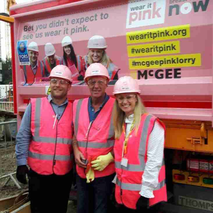 HRBLFC supporting Breast Cancer research