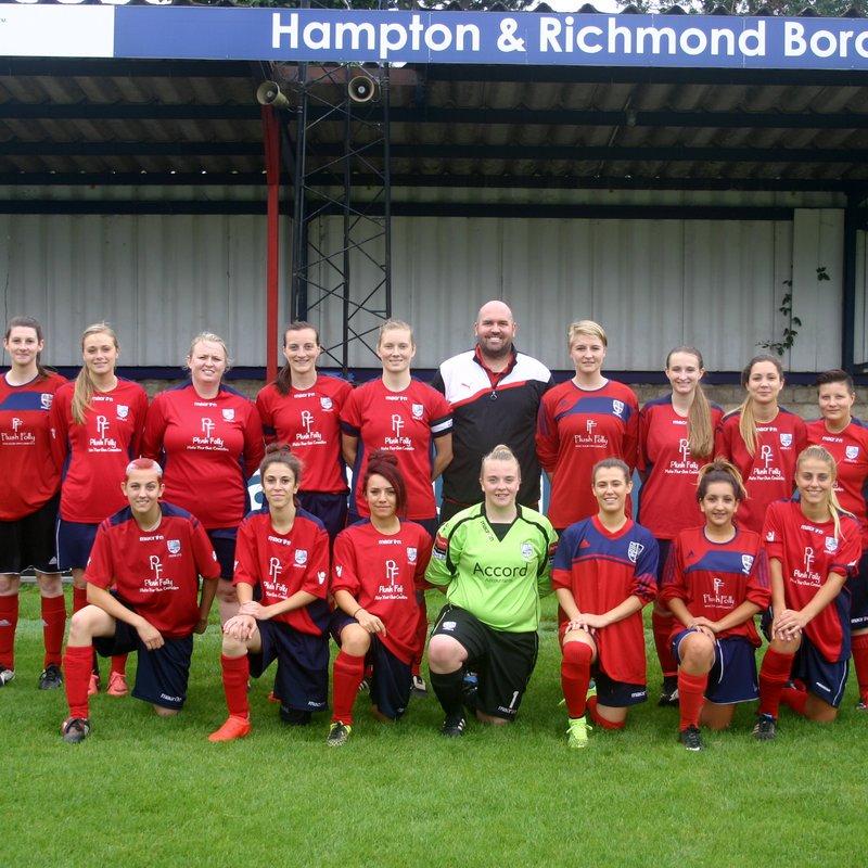 Hampton & Richmond Borough FC vs. AFC Wimbledon Ladies Development