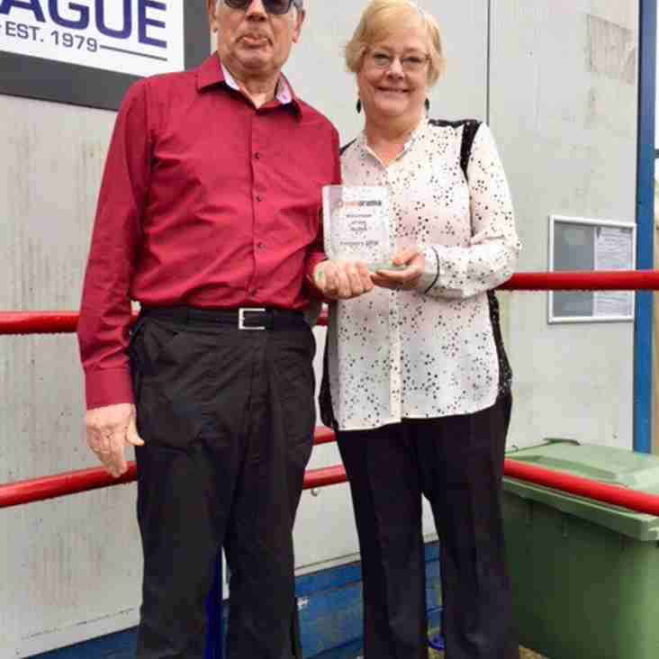 Les & Lesley - Division Volunteers of the Month