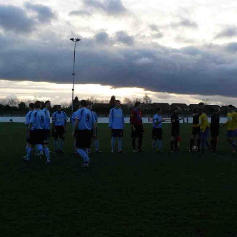 Garforth Town AFC vs Burscough FC