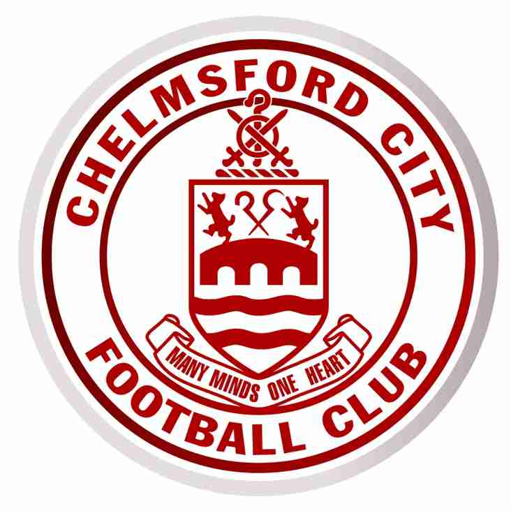 April 21st is Youth Day at Chelmsford City FC