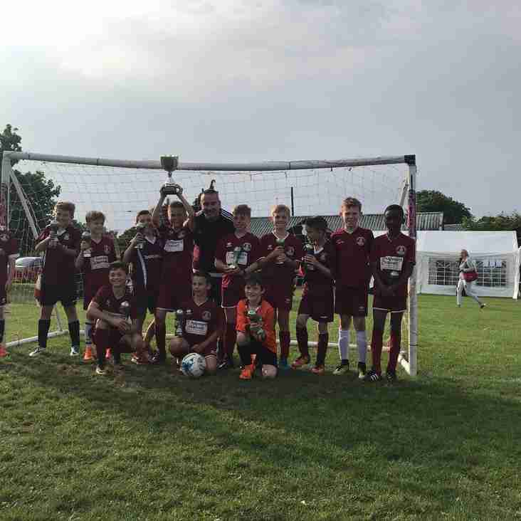 U10 Clarets take the honours at Maldon Saints Tournament