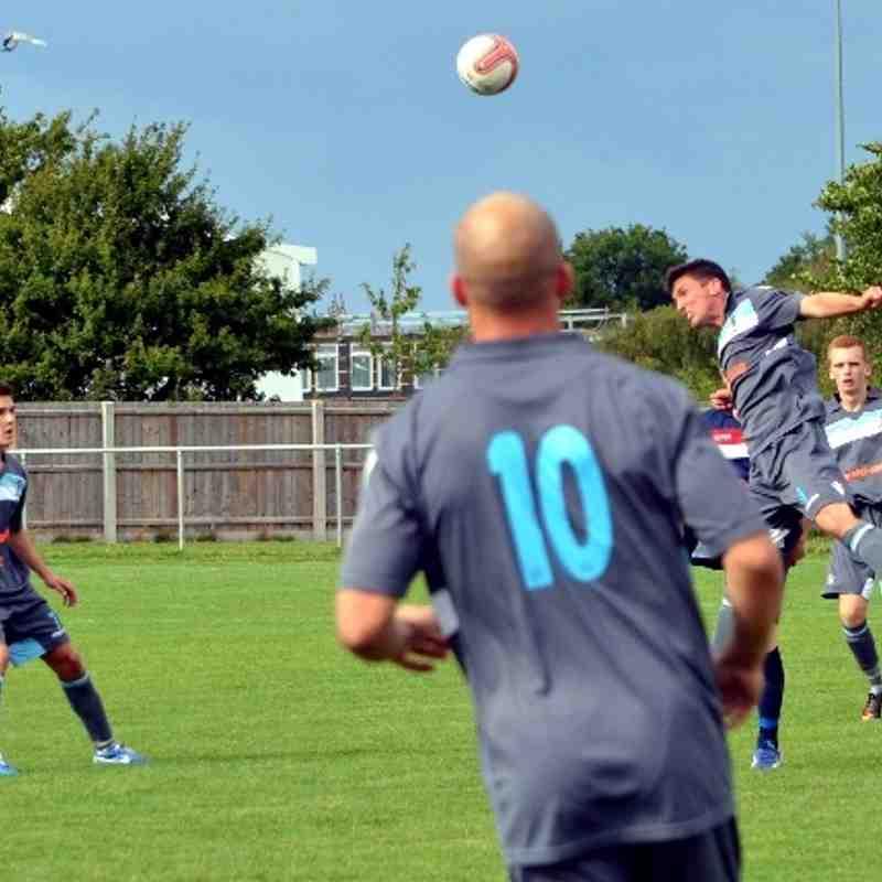 Haverhill Borough v Norwich Utd 8/9/13