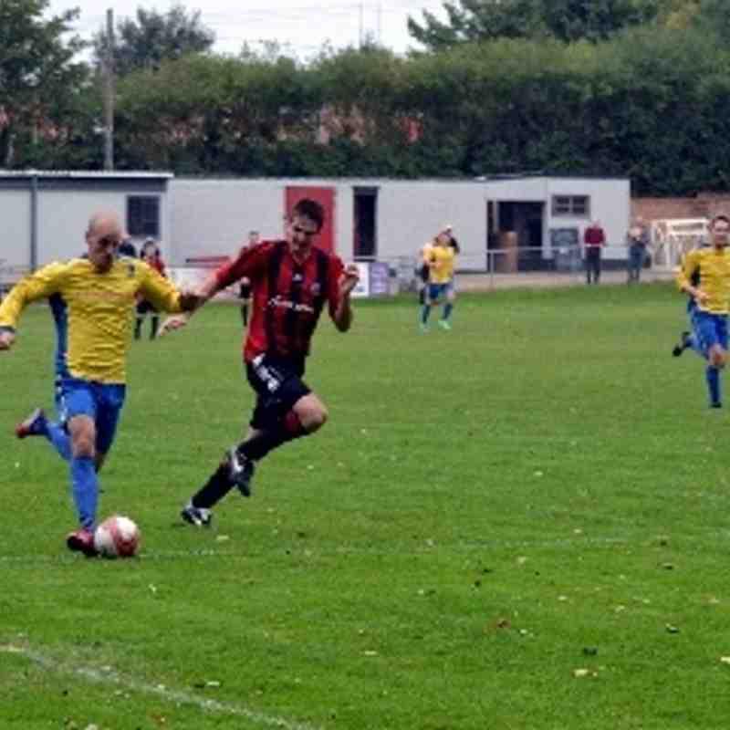 Saffron Walden v Norwich Utd. 21/09/13