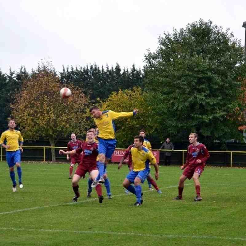 Norwich United v Bowers & Pitsea 19/10/13