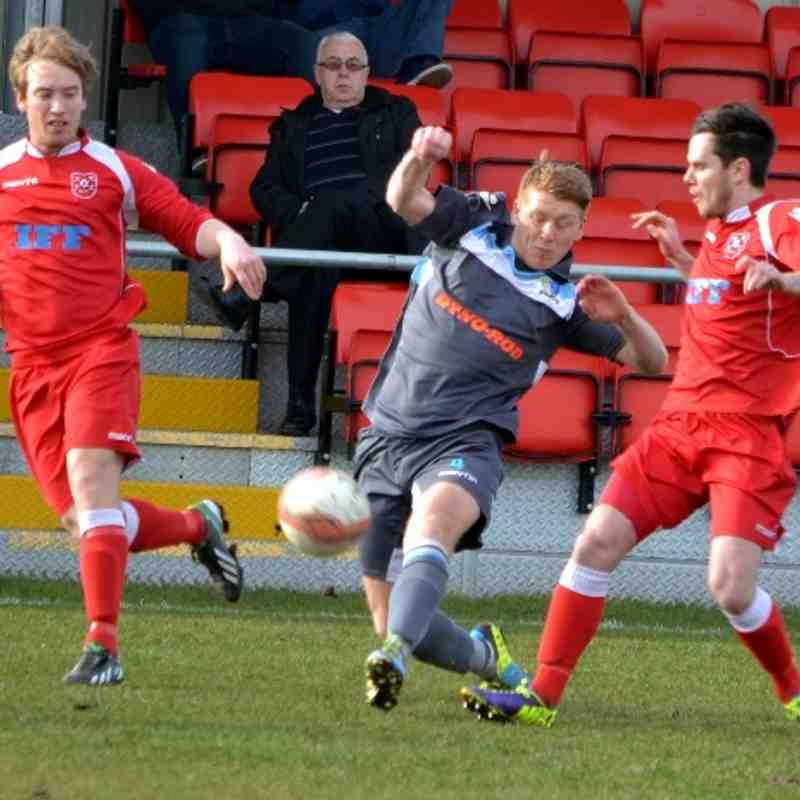Haverhill Rovers v Norwich United 08/03/14