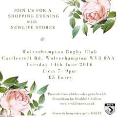 New Life Charity Shopping Event