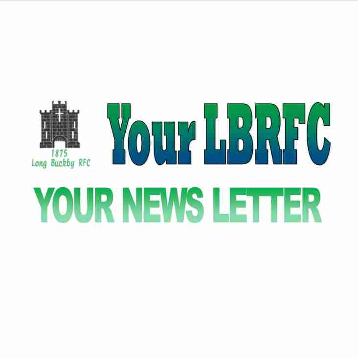 LBRFC August Newsletter - edition 8