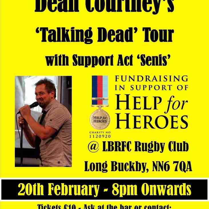 Comedy Night @ LBRFC 20th Feb, 8pm onwards