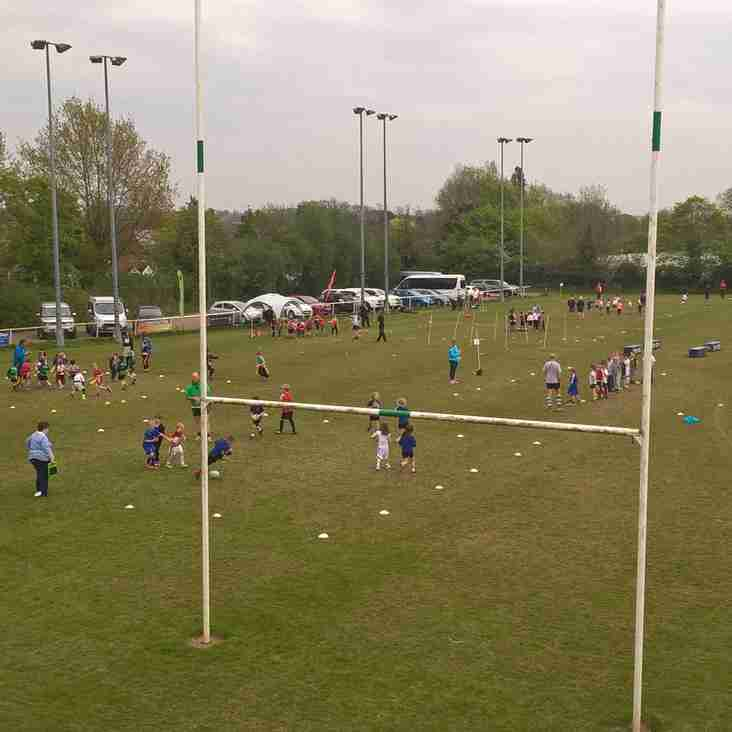 Long Buckby RFC Host Local Primary Schools event @ Station Road