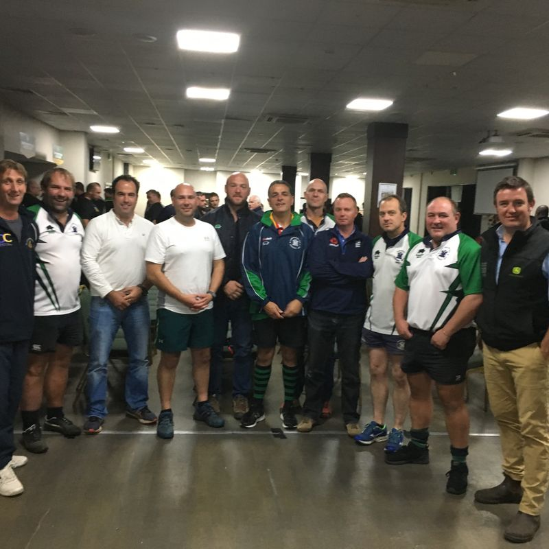 LBRFC coaches at the Saints