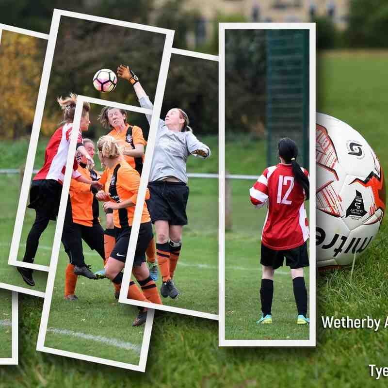 Wetherby Athletic Ladies v Tyersal FC Ladies (30 Oct 2016)