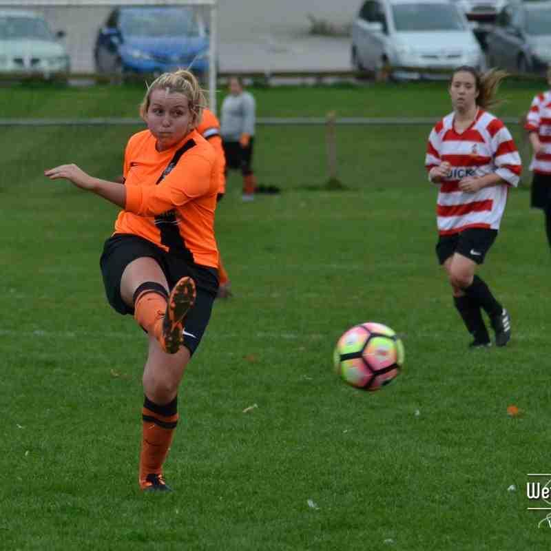 Wetherby Athletic Ladies v Tyersal FC Ladies (30 Oct 2016)