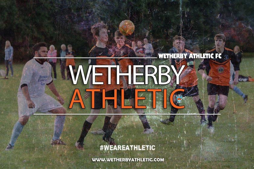 Wetherby Athletic U18's beat Harrogate Railway U17's 3 - 0