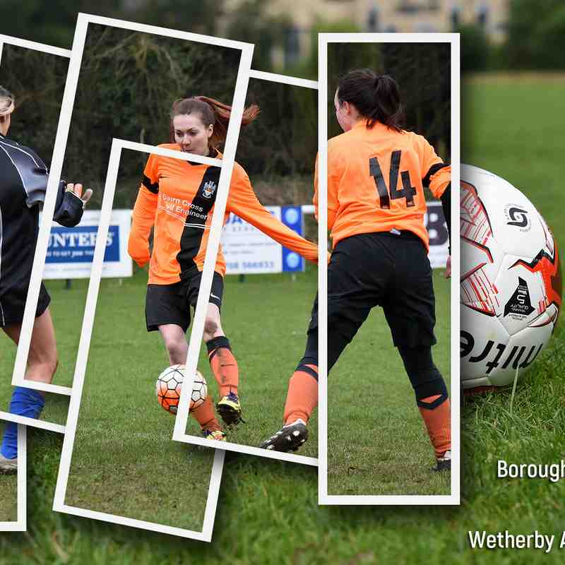 PHOTOS: Boroughbridge AFC Ladies v Wetherby Athletic Ladies (5 Mar 2017)