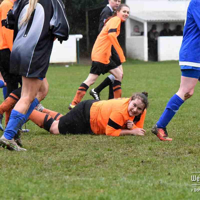 PHOTOS: Boroughbridge AFC Ladies v Wetherby Athletic Ladies (5 Mar 2017)