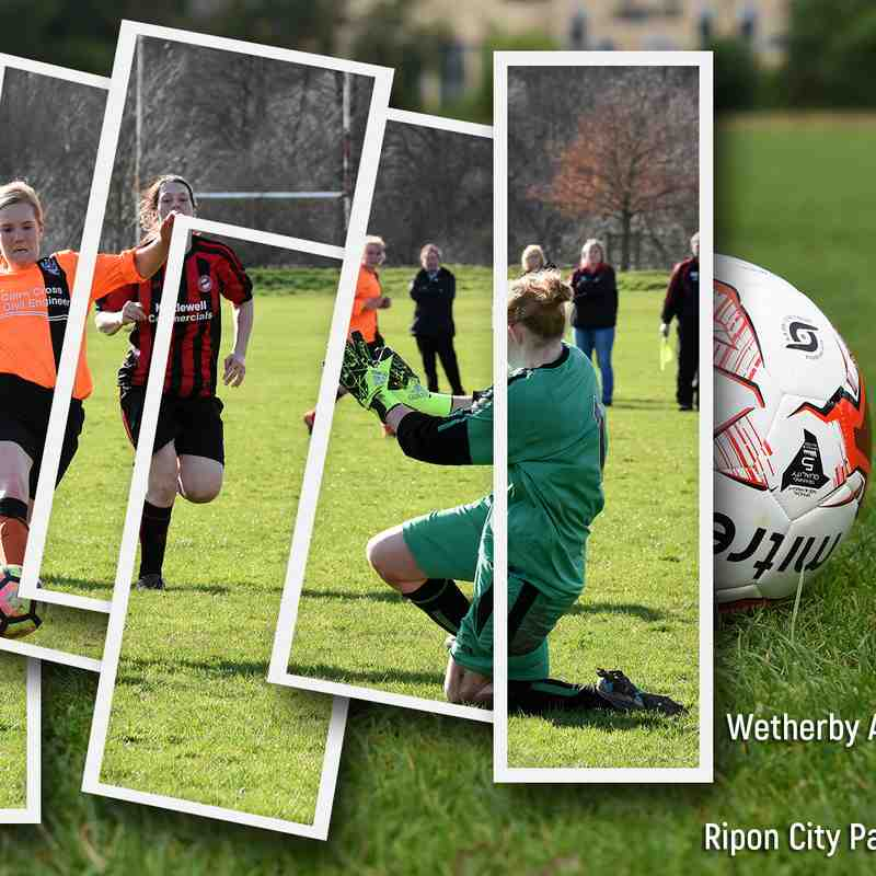 PHOTOS: Wetherby Athletic Ladies v Ripon City Panthers Ladies (13 Mar 2017)