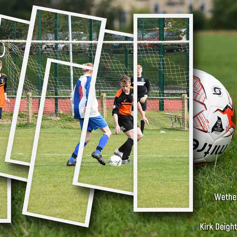 PHOTOS: Wetherby Athletic U18 v Kirk Deighton Rangers U18 (30 Apr 17)
