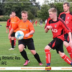 PHOTOS: Wetherby Athletic Res v Clifford AFC