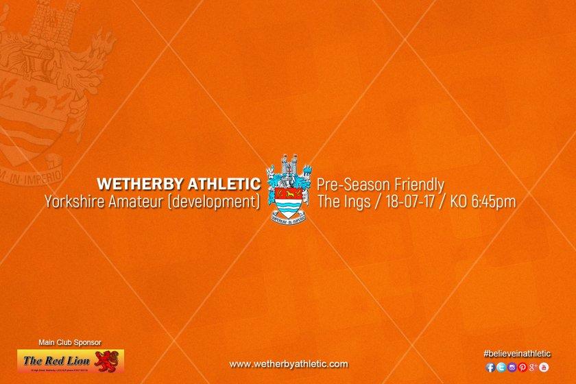 PREVIEW v Yorkshire Amateur (Development Squad)